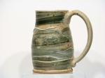 Mug with Super green FA matte glaze-$32