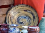anagama blue bowl ($240)