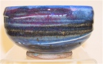 bowl cobalt blue with blush
