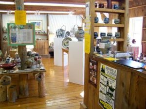 Ellison Bay Pottery gallery