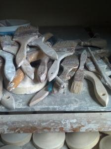 Potter's tools